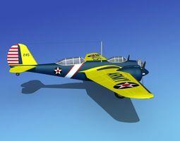 Martin B-10 V02 USAAC 3D model