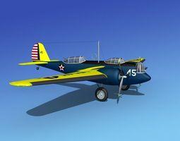 Martin B-10 V04 USAAC 3D