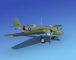 3D Martin B-10 V10