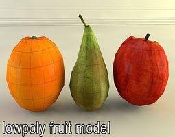 3D model fruit1