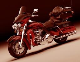 Harley Davidson Electra CVO 3D model