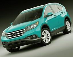 3d model honda cr-v 2012