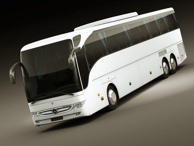 mercedes tourismo 3d model max obj mtl 3ds fbx lwo lw lws 1