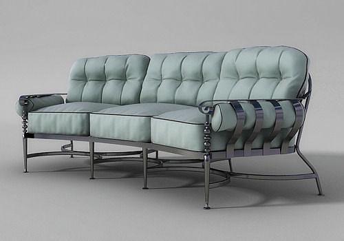 Corsica Crescent Sofa 3D model MAX OBJ 3DS MTL