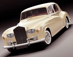 3D Rolls Royce Silver Cloud III