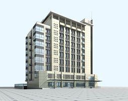 school building 029 3d model