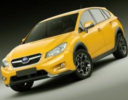 3D Subaru XV 2012