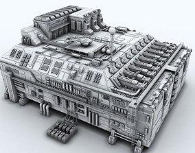3D model Sci-fi Factory