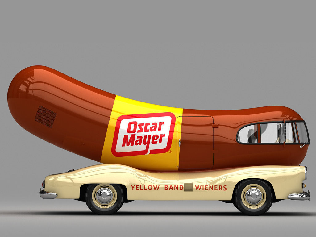 Oscar Mayer Wienermobile 1952 on oscar mayer wiener car
