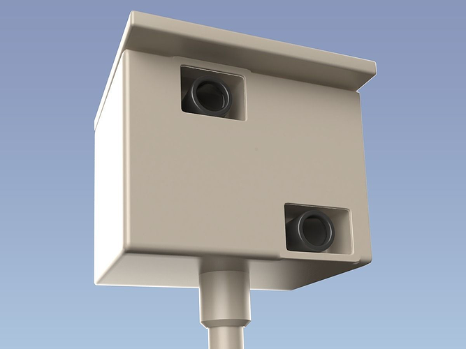 speed camera 3d model obj 1