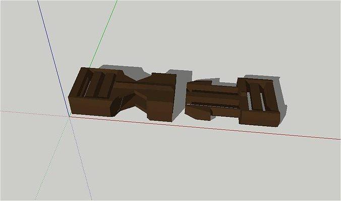 belt buckles 3d model stl 1