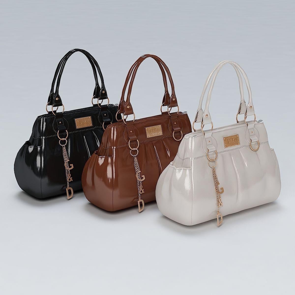 3d Ladies Hand Bag 02 Cgtrader
