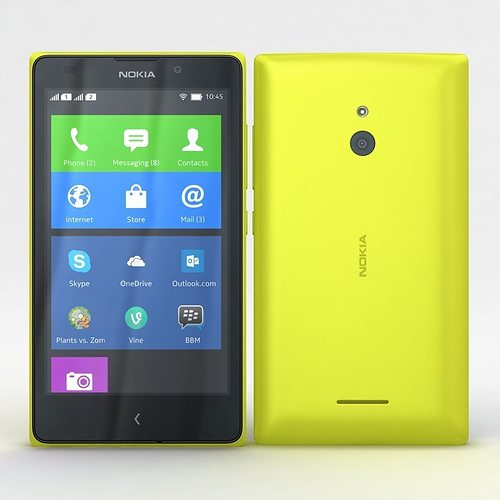 3d model nokia xl and xl dual yellow cgtrader nokia xl and xl dual yellow 3d model reheart Images