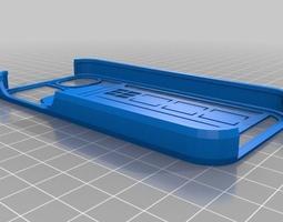 3D printable model Tardis Iphone 5 Case