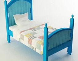 3D kid bed