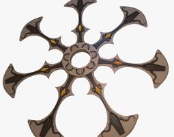 3d model blade spinner
