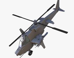 scifi helicopter 3d model obj blend