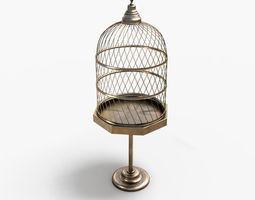 antiquebirdcage2 3d model