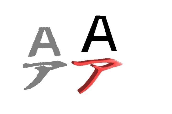 Japanese Character AAA