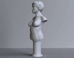female-bust 3D printable model