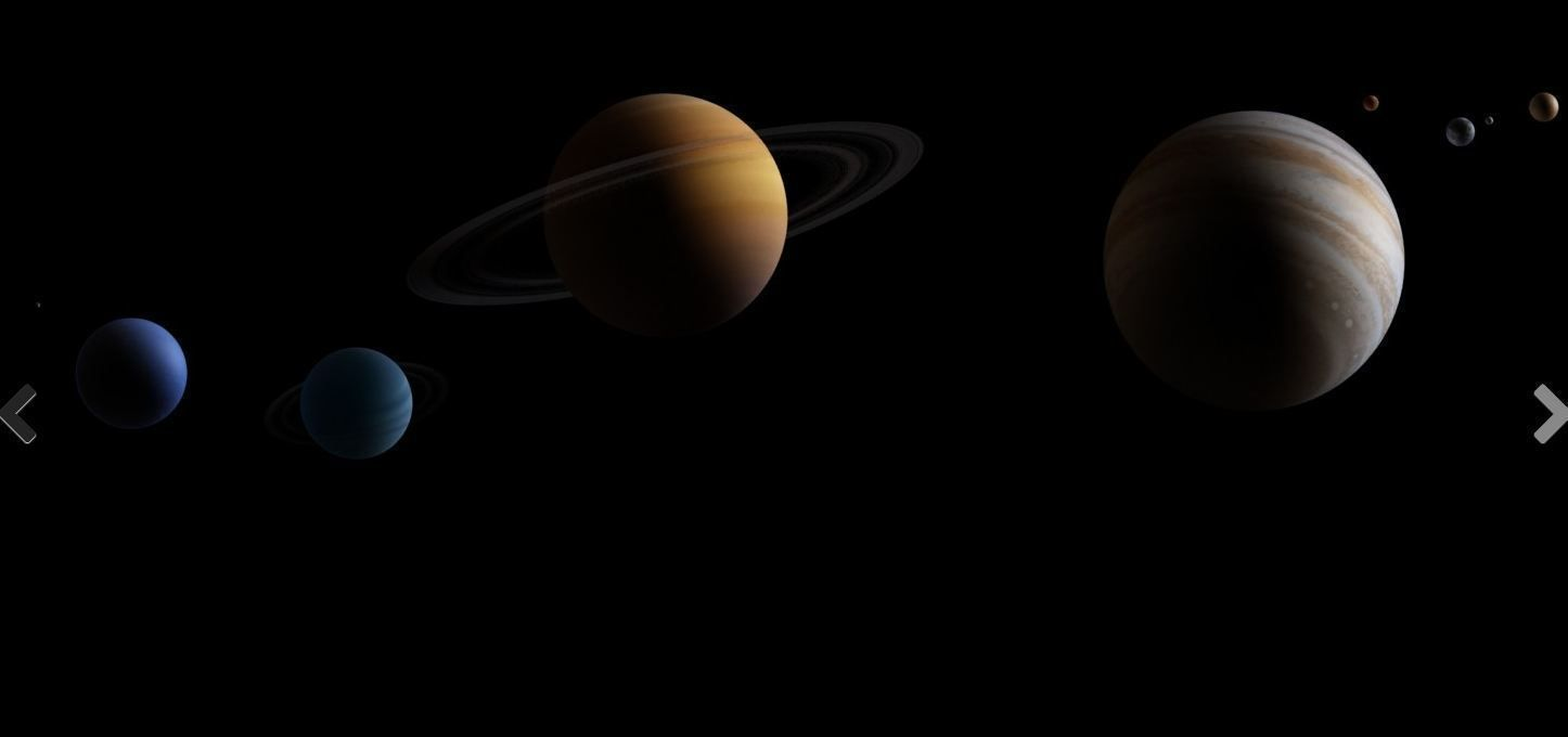 space and planets models - photo #13