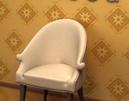 3d antique chair 09-072
