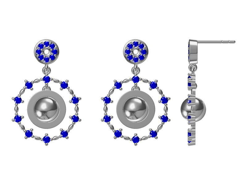 diamond earrings model - photo #25