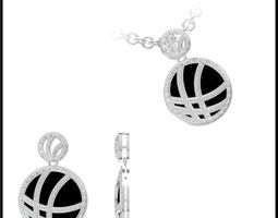 Diamond Necklace 71 3D