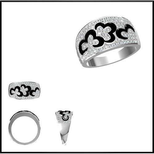diamond ring 76 3d model jcad jcd 1