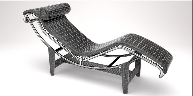 ... lc4 chaise lounge design by le corbusier 3d model blend 3 ...  sc 1 st  CGTrader.com : chaise lounge corbusier - Sectionals, Sofas & Couches