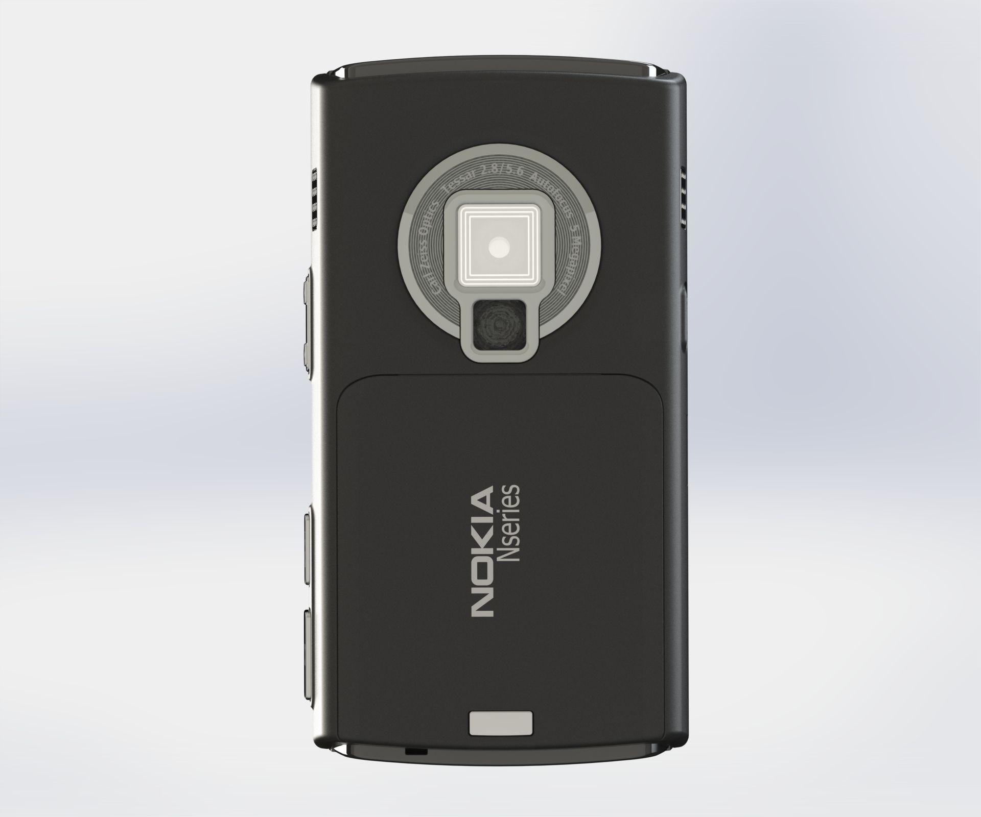Nokia N95 8Gb 3D Model MAX OBJ FBX SLDPRT SLDASM SLDDRW ...