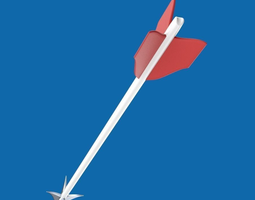 archery arrow 3d model