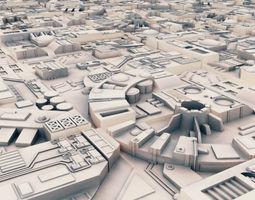 Sci-Fi Landscape Construction Kit 3D model