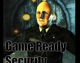 Security 3D asset