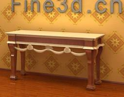 3d model om console table 029