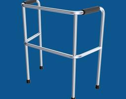 3d model rollator or walker