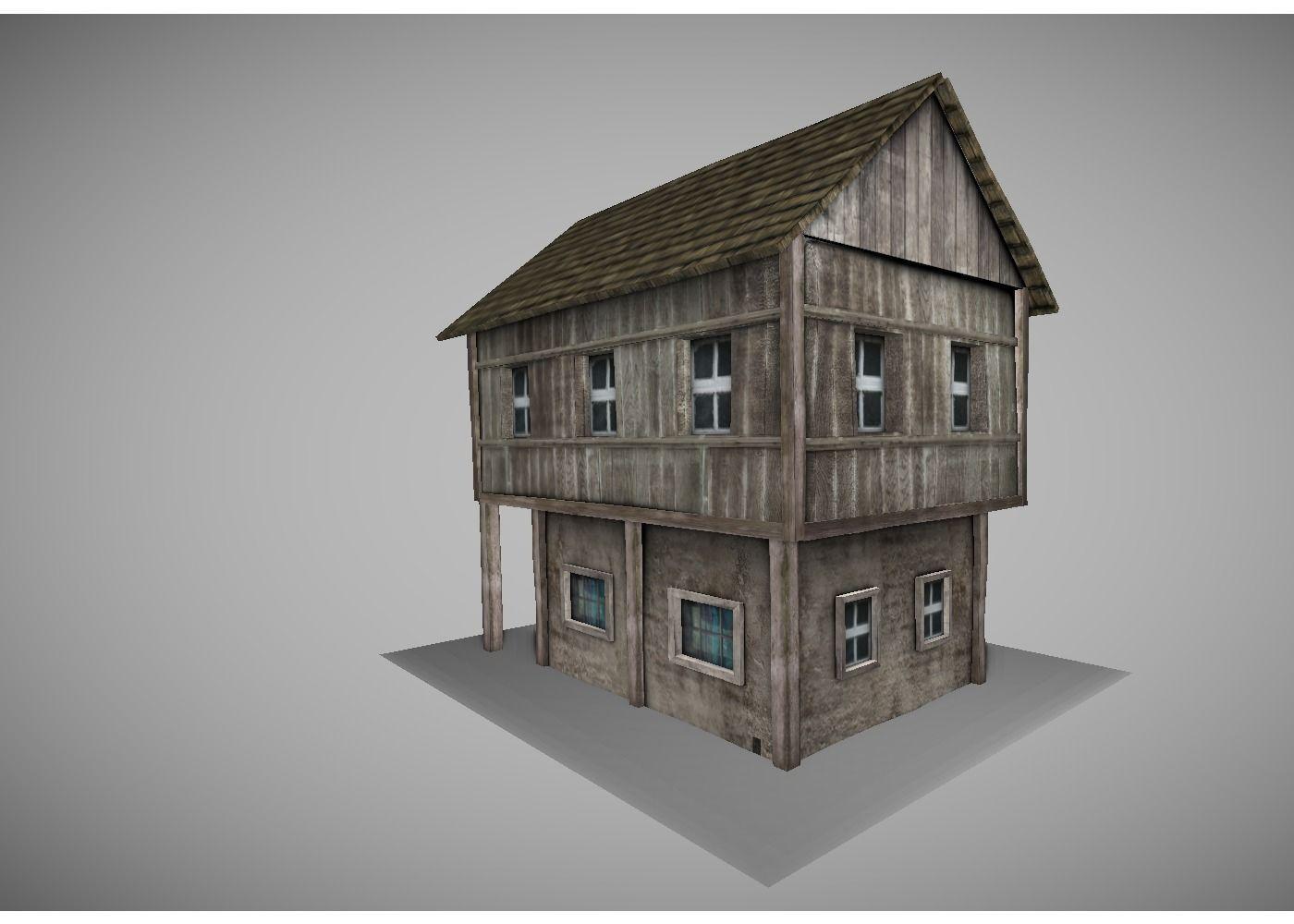 3D model low poly medi...