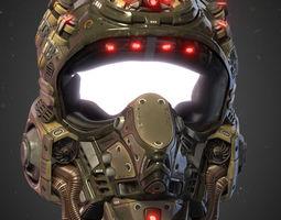Helmet Kepler-22b 3D asset