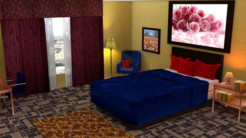 hotel rooms 3d model cgtrader rh cgtrader com hotel room model photoshoot hotel rooms in model town lahore