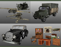 WWII model pack