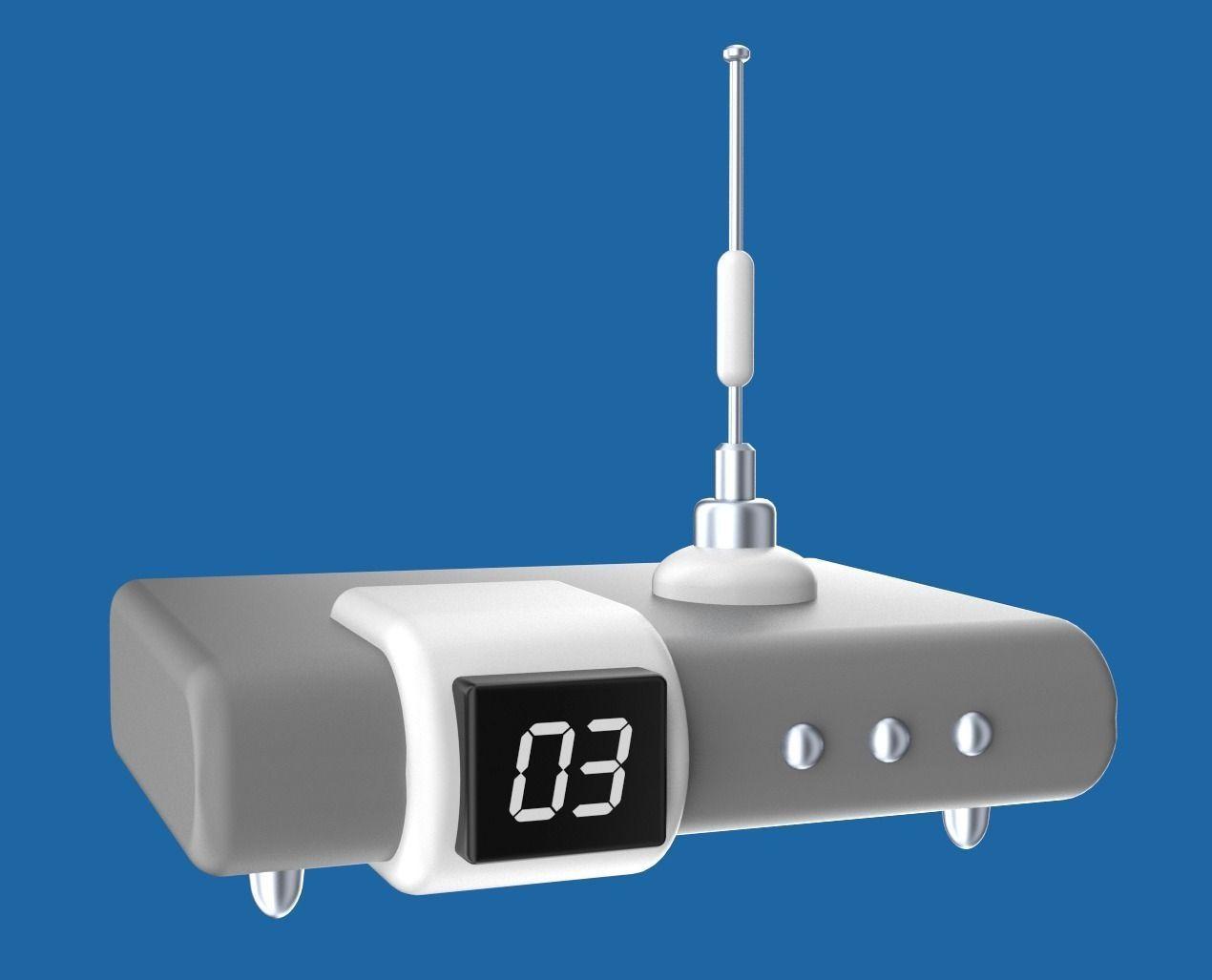 Cartoony electronic device