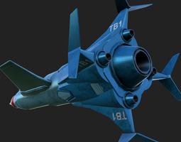 Thunderbird 3D asset