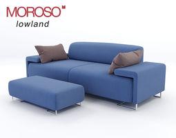 3D model lowland sofa