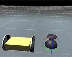 Mini-bot joystick 3D model