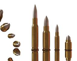 3D asset Bullets