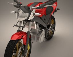 3D model yamaha v-ixion streetfighter