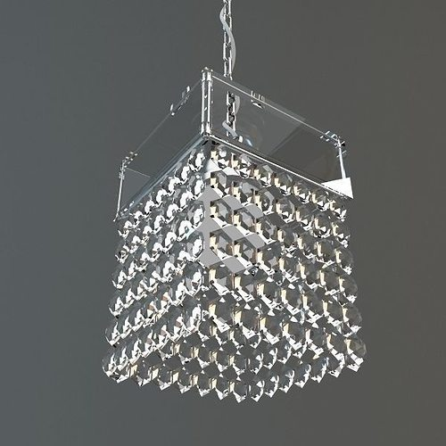 Hanging crystal chandelier 3d cgtrader hanging crystal chandelier 3d model aloadofball