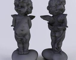 3d model angel cupid-3