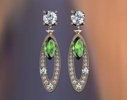 3D printable model Bvlgary earrings