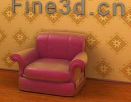 club chair 09om-041 3d